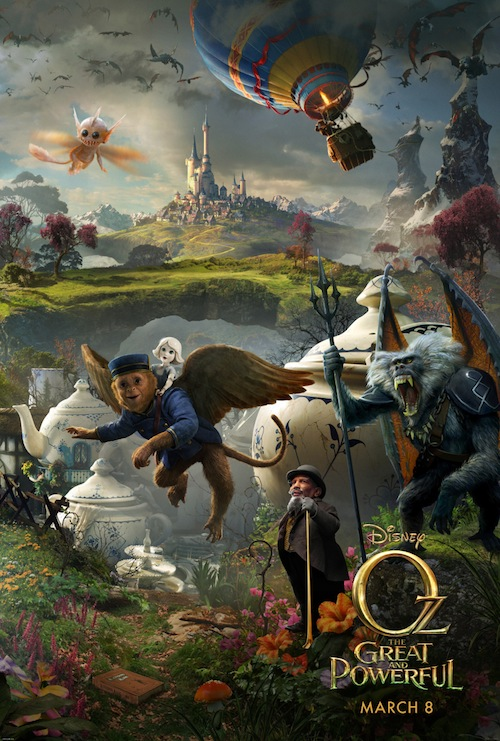OZ: THE GREAT AND POWERFUL movie review - #DisneyOzEvent
