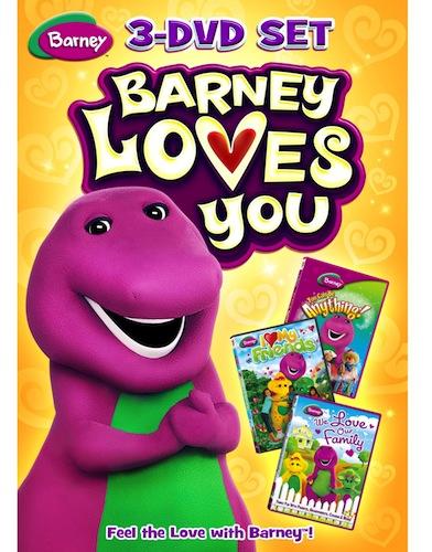 Barney: Barney Loves You 3-DVD Set