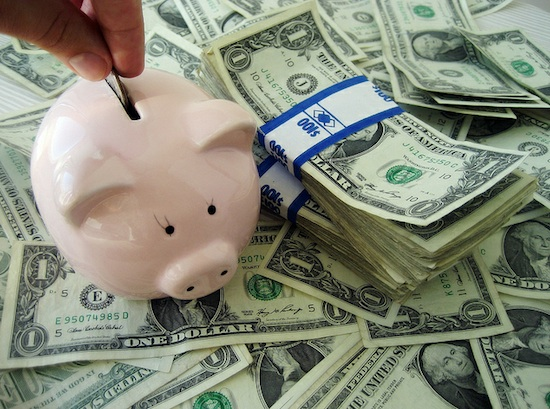 Saving Money with Piggy Bank