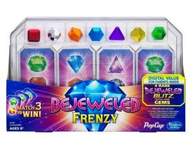 Bejeweled Frenzy Card Game