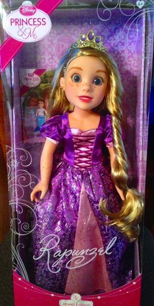 Disney Princess And Me Dolls - Rapunzel