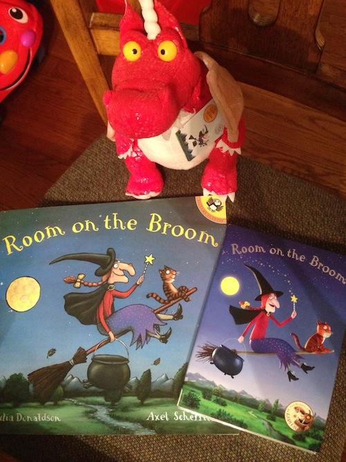 Room On The Broom children's book