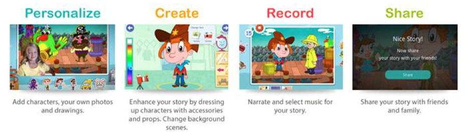 Playtown kids app