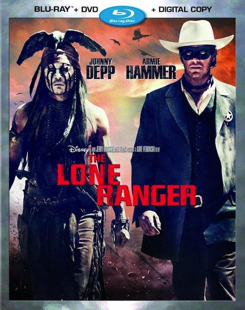 The Lone Ranger Blu-ray