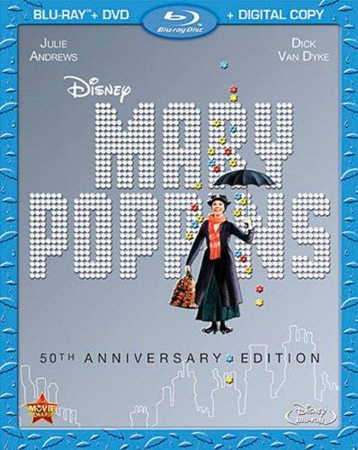 Disney Mary Poppins 50th Anniversary Blu-ray