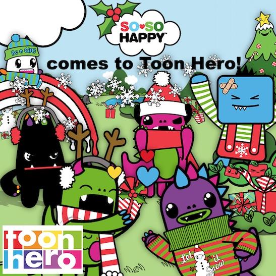 Toon Hero So So Happy