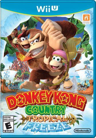 Wii U Donkey Kong Country Tropical Freeze