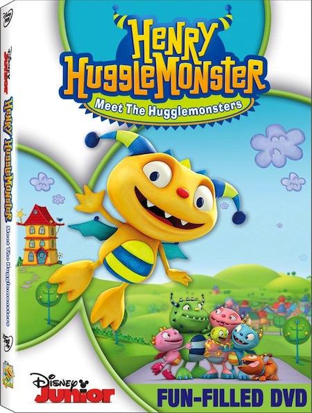 Henry Hugglemonster: Meet The Hugglemonsters DVD