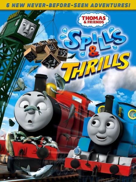 REVIEW AND #GIVEAWAY – Thomas & Friends: Spills & Thrills DVD @trueblueengine