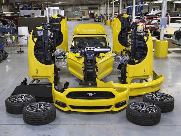 2015 Mustang Esb Build