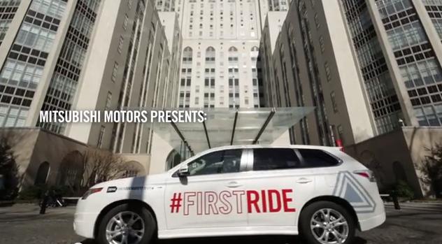 Mitsubishi First ride
