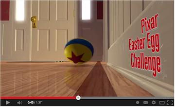 Pixar Easter Egg Challenge