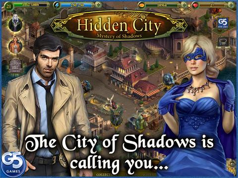 Hidden City Mystery Of Shadows