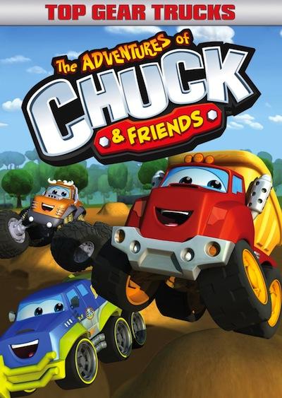 The Adventures of Chuck & Friends: Top Gear Trucks DVD