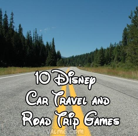10 Disney Car Travel And Road Trip Games