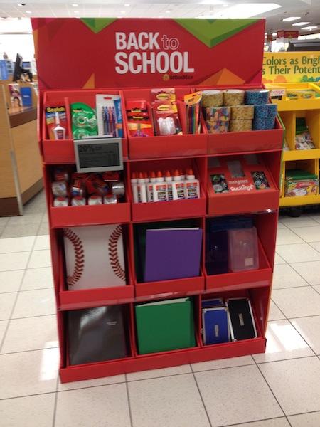 Kohl's back to school shopping
