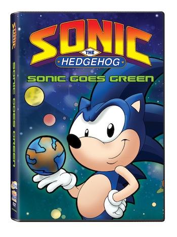 Sonic the Hedgehog: Sonic Goes Green