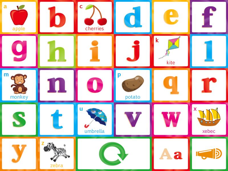 Tappy Alphabet - children's vocabulary app