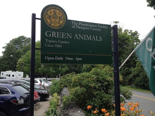 green animals topiary garden portsmouth ri - Green Animals Topiary Garden