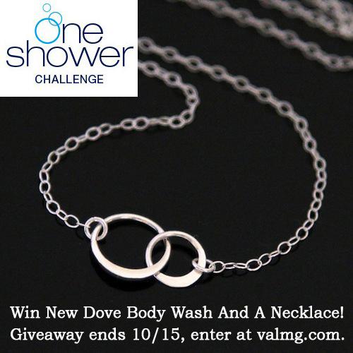 Dove OneShower Giveaway