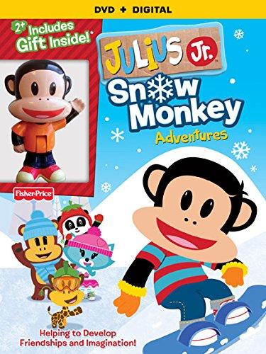 Julius Jr.: Snow Monkey Adventures DVD