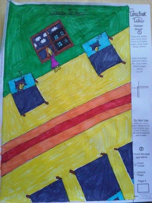 Lulu Jr. My Comic Book: Create Your Own Comic