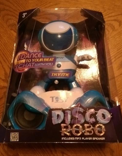 DiscoRobo from TOSY Robotics