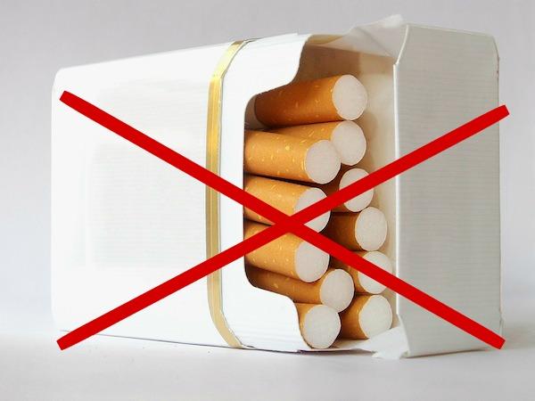 pack cigarettes