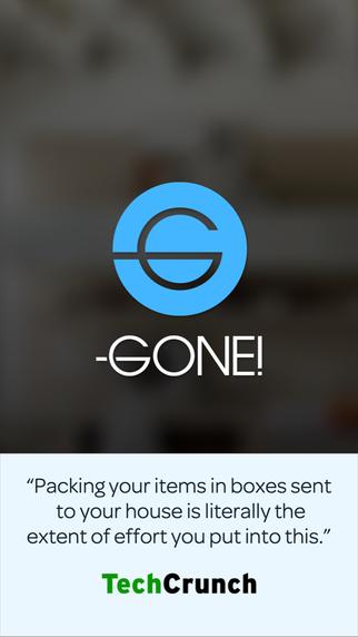 Gone! app