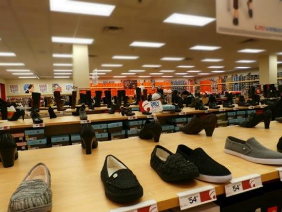 Famous Footwear opening, Bay Plaza NY