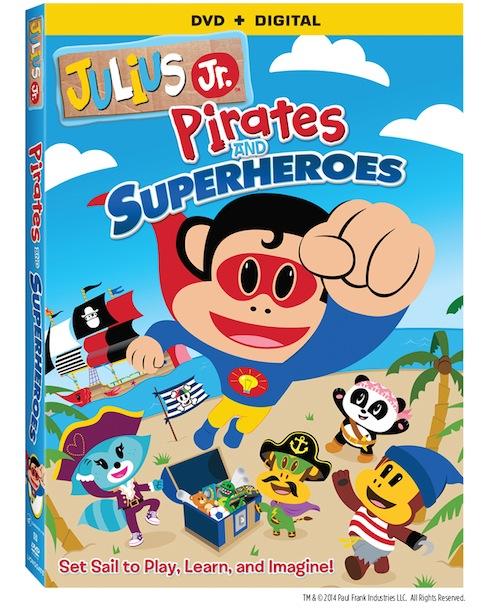 REVIEW – Julius Jr: Pirates And Superheroes DVD