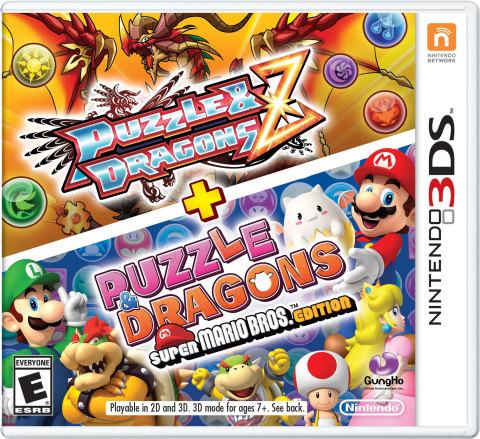 Nintendo 3DS Puzzles Dragons