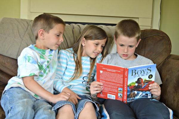 Sky Pony Press Earth Month Books - Boys Camp