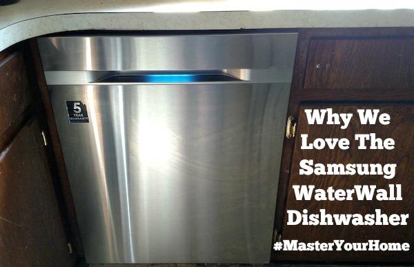 Samsung WaterWall Dishwasher #MasterYourHome