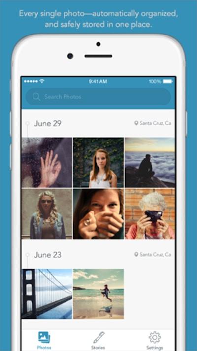Picjoy photo organizing app