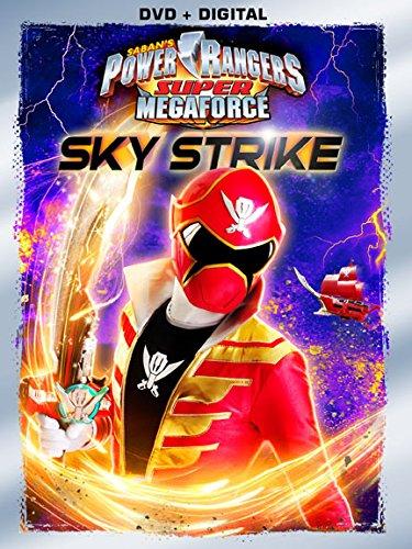 Power Rangers Super Megaforce: Sky Strike DVD
