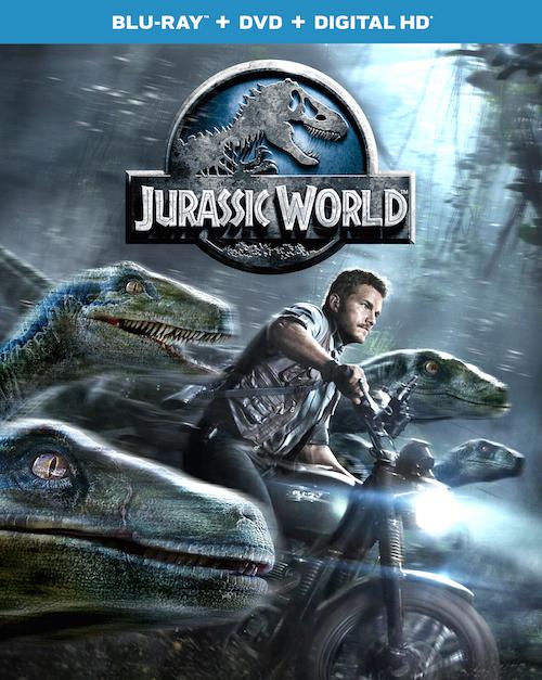 Jurassic World Roars Onto Blu-ray, DVD, and On Demand October 20, 2015 #TeamJurassic #JurassicWorld