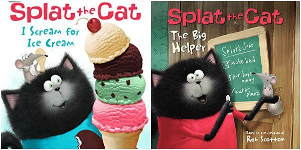 Splat The Cat books