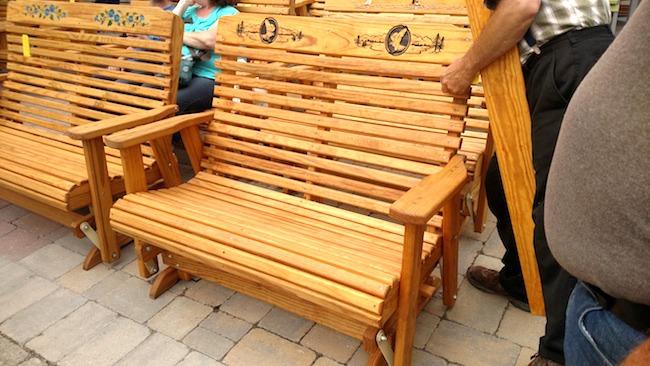 eagle bench