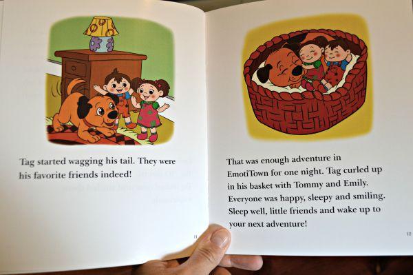 Playability Toys - Emotiplush Doll storybook