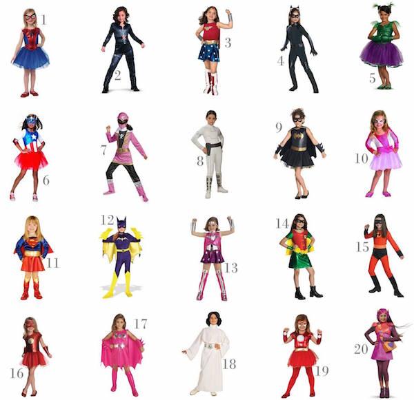 Round Up Of 20 Super Hero And Villain Girls' Halloween Costumes Under $30 On Amazon