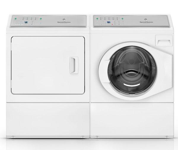 Speed Queen washing machine and dryer
