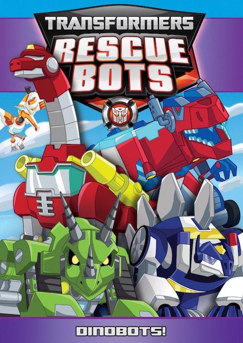 Transformers Rescue Bots: Dinobots DVD