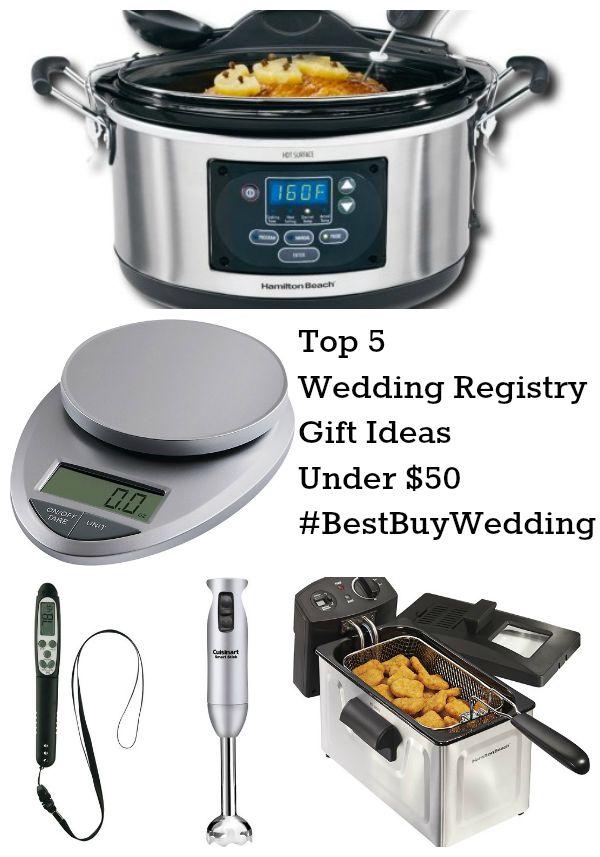 Top 5 Wedding Registry Gift Ideas Under $50 @BestBuy #BestBuyWedding