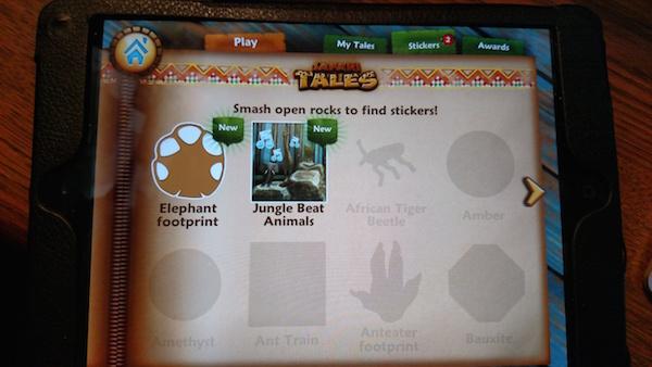 Safari Tales app