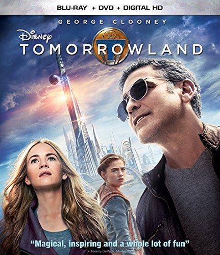 Disney Tomorrowland Blu-ray