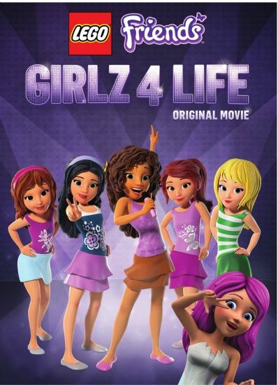 LEGO Friendz: Girlz 4 Life DVD