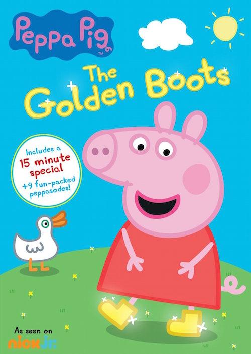 Peppa Pig: The Golden Boots DVD