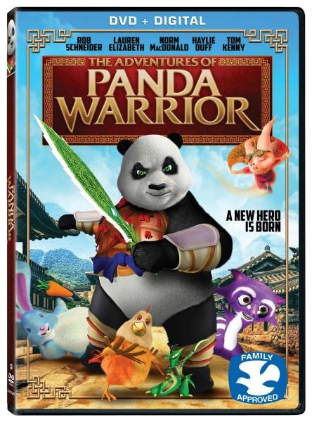 The Adventures of Panda Warrior DVD review