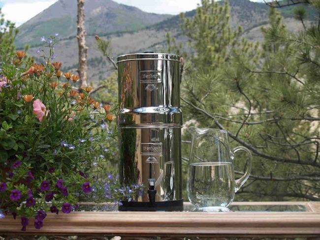 The Big Berkey Water Filter System